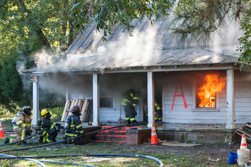 "Fire Department to Hold ""Live Burn"" Training"