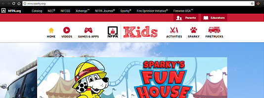 SPARKY WEBSITE