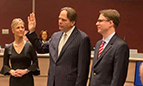 New City Mayor and Commissioners Sworn In